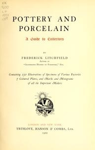 "Cover of ""Pottery and porcelain"""
