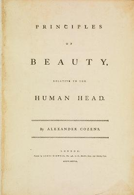 """Cover of """"Principles of beauty relative to the human head"""""""