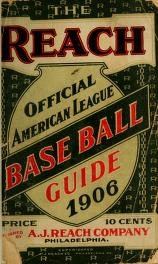 "Cover of ""The Reach official American League base ball guide"""