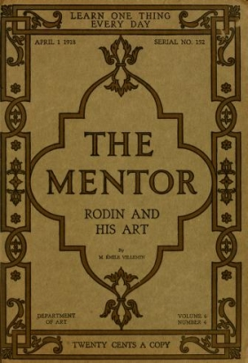 """Cover of """"Rodin and his art /"""""""