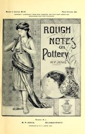 """Cover of """"Rough notes on pottery"""""""