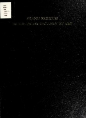 "Cover of ""Shang bronzes in the Freer Gallery of Art"""