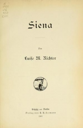 "Cover of ""Siena"""