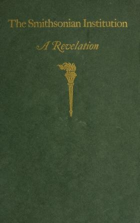 "Cover of ""The Smithsonian Institution"""