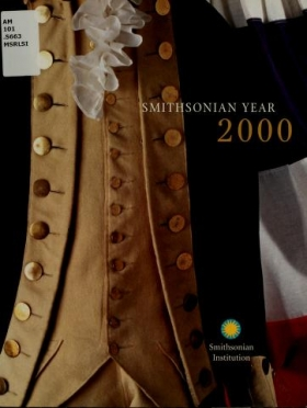 """Cover of """"Smithsonian year"""""""