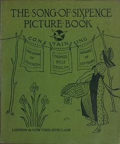 "Cover of ""The song of sixpence picture book"""