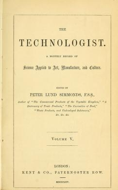 """Cover of """"The Technologist"""""""