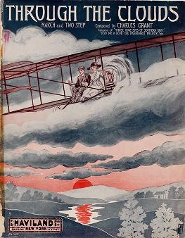 "Cover of ""Through the clouds"""
