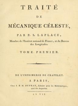 "Cover of ""Traité de mécanique céleste"""