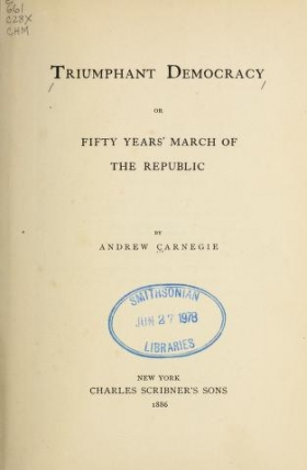 Carnegie, Andrew | Smithsonian Libraries
