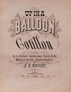 """Cover of """"Up in a balloon"""""""