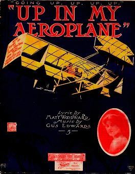 "Cover of ""Up in my aeroplane"""
