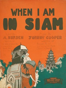 """Cover of """"When I am in Siam"""""""