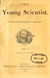 "Cover of ""Young scientist"""