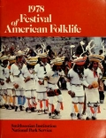 "Cover of ""1978 Festival of American Folklife"""