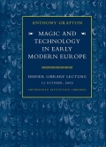 "Cover of ""Magic and technology in early modern Europe /"""