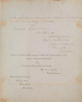 """Cover of """"Notes of lectures delivered on natural philosophy, to the senior class of 1848 & '49"""""""
