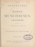 """Cover of """"The adventures of Baron Munchausen"""""""