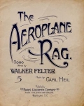 "Cover of ""The aeroplane rag"""