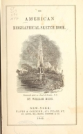 The American biographical sketch book. By William Hunt