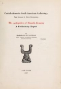 The antiquities of Manabi, Ecuador; a preliminary report, by Marshall H. Saville ..