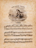 The ariel waltz / composed and respectfully dedicated to his pupils by T. Comer