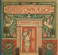 """Cover of """"The baby's own Aesop"""""""