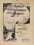 """Cover of """"Le biplan"""""""