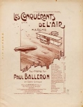 "Cover of ""Les conquérants de l'air"""