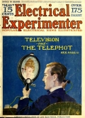 """Cover of """"The Electrical experimenter"""""""