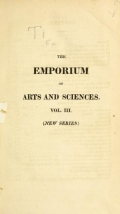 "Cover of ""The Emporium of arts and sciences"""