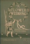 """Cover of """"A flower wedding"""""""