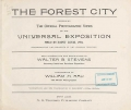 """Cover of """"The Forest city"""""""