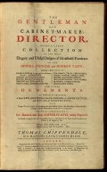 "Cover of ""The gentleman and cabinet-maker's director"""