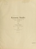 "Cover of ""Keramic studio"""