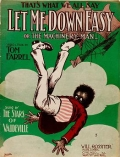 "Cover of ""Let me down easy, or, The machinery man"""