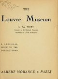 """Cover of """"The Louvre Museum"""""""