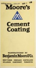 """Cover of """"Moore's cement coating"""""""