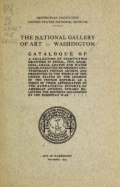 "Cover of ""The National Gallery of Art, Washington : catalogue of a collection of eighty-two drawings..."""