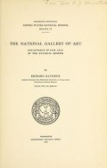 "Cover of ""The National Gallery of Art"""