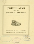 """Cover of """"Porcelains from the Robineau Pottery /"""""""