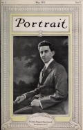 """Cover of """"Portrait"""""""
