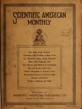 """Cover of """"Scientific American monthly"""""""
