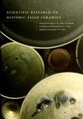 "Cover of ""Scientific research on historic Asian ceramics"""