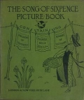 """Cover of """"The song of sixpence picture book :"""""""