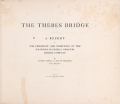 """Cover of """"The Thebes bridge;"""""""