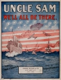 """Cover of """"Uncle Sam we'll all be there"""""""