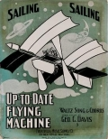 "Cover of ""Up-to-date flying machine"""