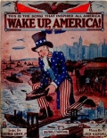 "Cover of ""Wake up, America!"""