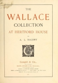 """Cover of """"The Wallace Collection at Hertford House /"""""""